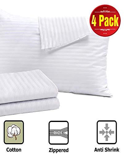 Niagara Sleep Solution 4 Pack Pillow Protectors