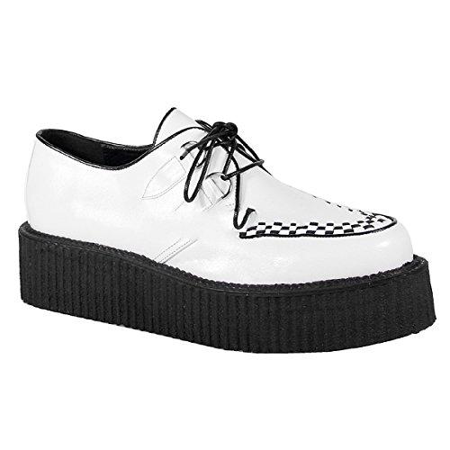 Demonia V-Creeper-502 - gothique punk Creeper chaussures unisex 36-48