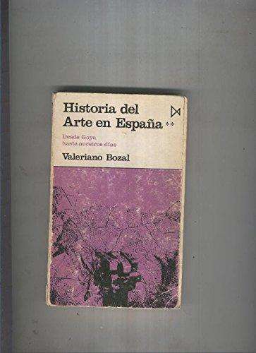 Historia del arte em España II: Amazon.es: Valeriano Bozal: Libros