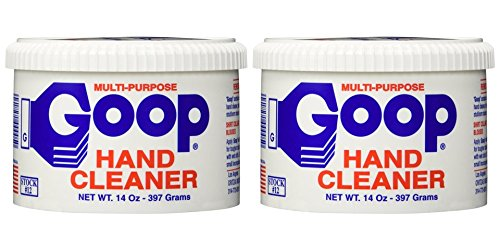 Goop Hand Cleaner, Laundry Stain Lifter, 14 Ounce, Pack of 2 ()