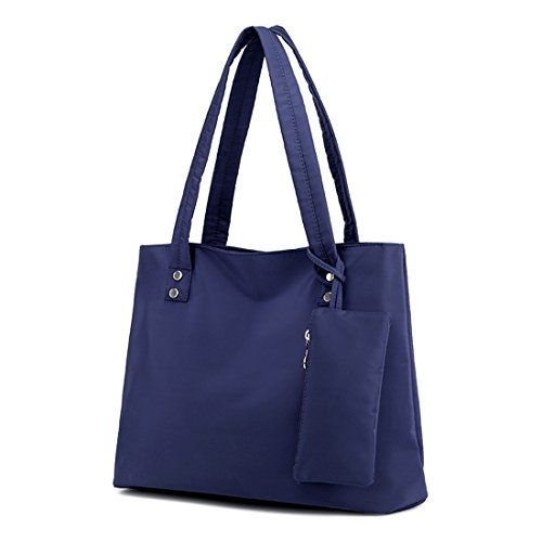 Women Shoulder Tote Bags Waterproof Nylon Travel Tote Handbag Purse Bag ()