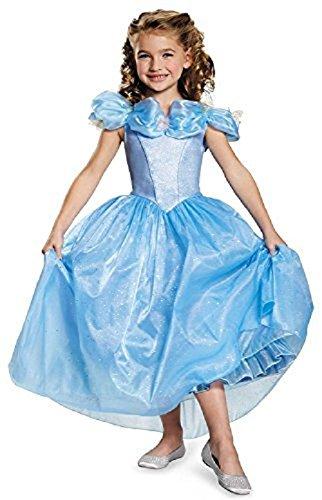Disguise Cinderella Movie Prestige Costume, X-Small (3T-4T)