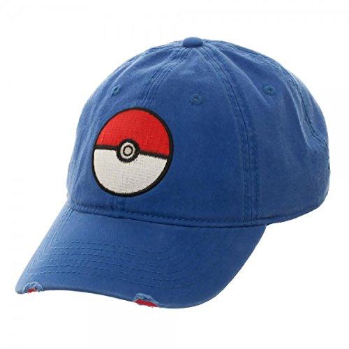bioWorld Pokémon XY Blue Adjustable Dad Snapback Cap -