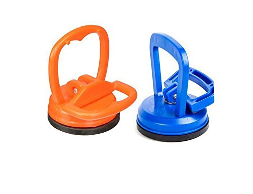 HiYi PDR Vacuum Suction Cup Handle Dent Puller a Pair Tools Hand Puller Set (Suction Kit Cup)