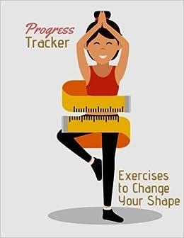 progress tracker body fitness organizer logbook track your weight