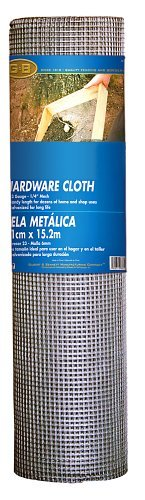 Gilbert & Bennett 308241B 36-Inch-by-100-Foot 1/4-Inch Mesh 23-Gauge Hardware Cloth