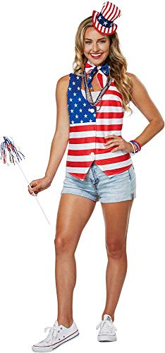 Miss Independent Patriot Lady Kit American Costume Accessory Kit Adult -