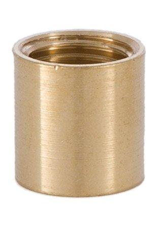 B&P Lamp 5/8 Inch Brass Coupling 1/4 Tap