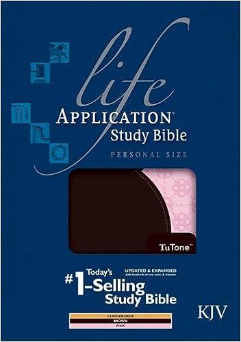 Life Application Study Bible KJV, Personal Size, TuTone (Thumb Index