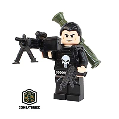 CombatBrick Premium Limited Edition Minifigure - The Punisher: Toys & Games