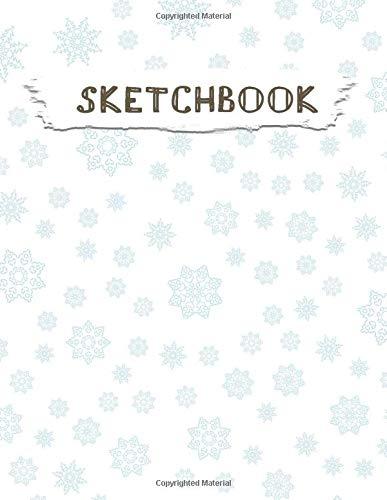 Sketchbook  Christmas Pattern Practice Drawing Paint Write Doodle Large Blank Pages 8.5 X 11 For Notes Sketching Creative Diary Manga And Journal  Volume 52