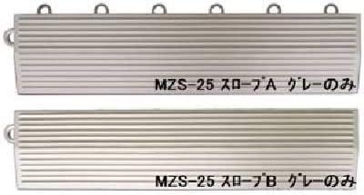 水廻りフロアー ソフトチェッカー MZS-25用 スロープセット セット内容 (本体 32枚セット用) スロープA12本・スロープB12本 計24本 (日本製)