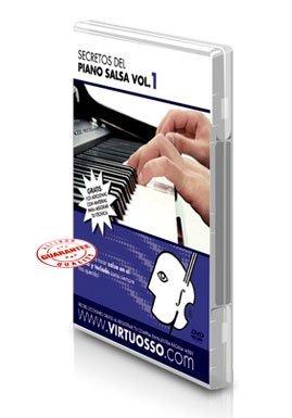 Virtuosso Salsa and Latin Rhythm Method for Piano Vol.1 (Curso De Piano Salsa Y Ritmos Latinos Vol.1) SPANISH ONLY