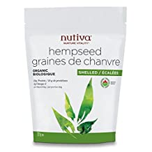 Nutiva Organic Shelled Hempseed, 227gm
