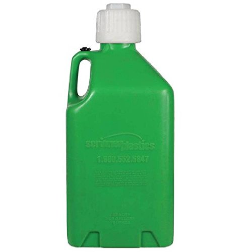Scribner Plastics 2000G-6PK Green Utility Jug - 5 Gallon Capacity, (Pack of 6)