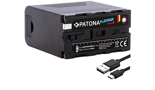 Patona® Platinum - Batería de Repuesto para Sony NP-F970 ...