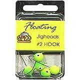Apex Hook Size Number 2 Floating Jighead (Pack of 5)