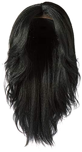 Outre Synthetic L-Part Lace Front Wig NEESHA Color #1 Jet Black (Black Lace Front Wigs)