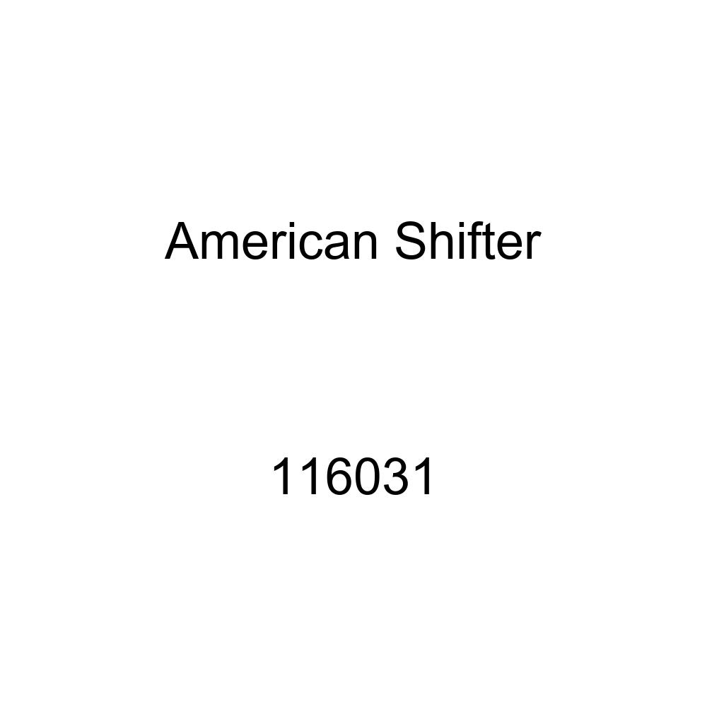 American Shifter 116031 Red Stripe Shift Knob with M16 x 1.5 Insert Black 07 Master Sergeant