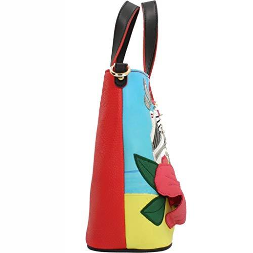 De Braccialini Bolso Multicolor Asas Mujer Para HqgqSw0