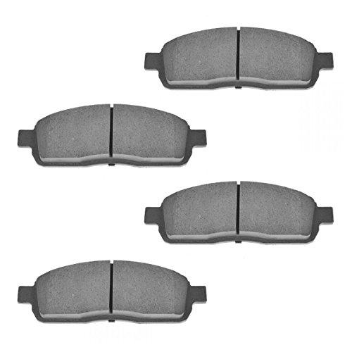Front Ceramic Brake Pad Set for Ford F150 Lincoln Mark LT Pickup Truck