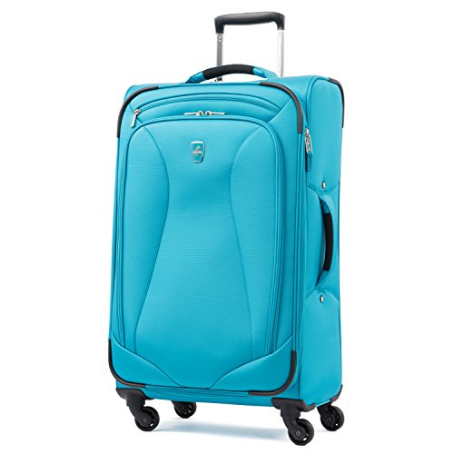 Delsey Luggage Cruise Lite Softside Spinner Trolley Tote Blue