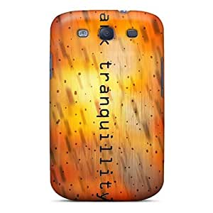 KennethKaczmarek Samsung Galaxy S3 Best Designed Hard Case Realistic Dark Tranquility Band Skin [Qhe3106wrsR]