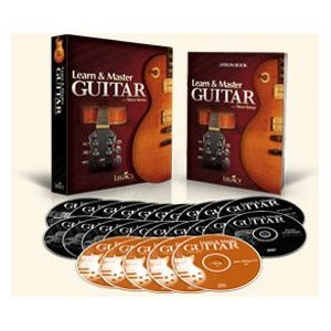 (Learn and Master Guitar, Expanded Edition, Steve Krenz, 20 DVDs, 5 Jam-Along CDs & Lecture Book, from Legacy Learning)
