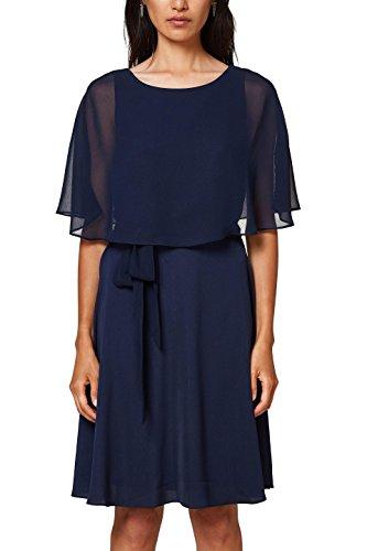 ESPRIT Collection, Vestido de Fiesta para Mujer Azul (Navy 400)
