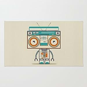 poppylife música Robot cocina Rugs interior de entrada Felpudo