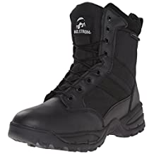 Maelstrom Men's TAC FORCE 8 Inch Waterproof Insulated Military Tactical Duty Work Boot with Zipper
