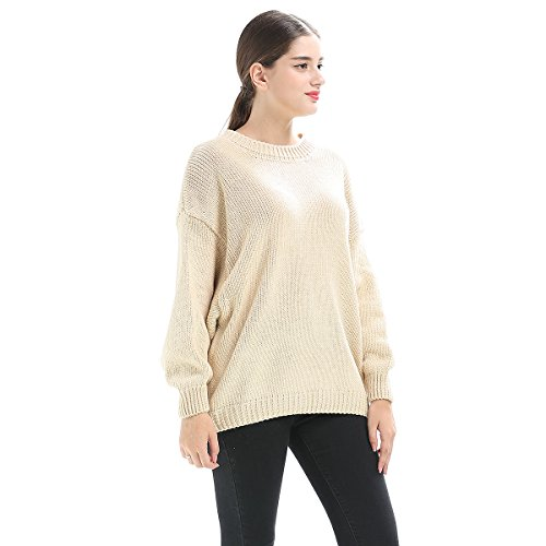mujeres grueso las otoño e as del de palo de invierno las de suéter las picture la mujeres de del Suéter manga gran mujeres de tamaño 6tqEdwq