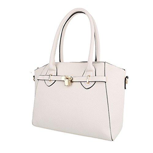 Schuhcity24 Taschen Handtasche Beige