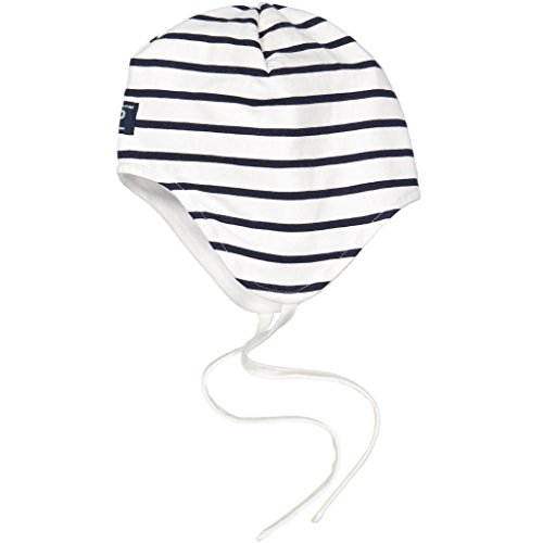 - Polarn O. Pyret Signature Stripe ECO Helmet (Newborn) - 1-4 Months/Snow White