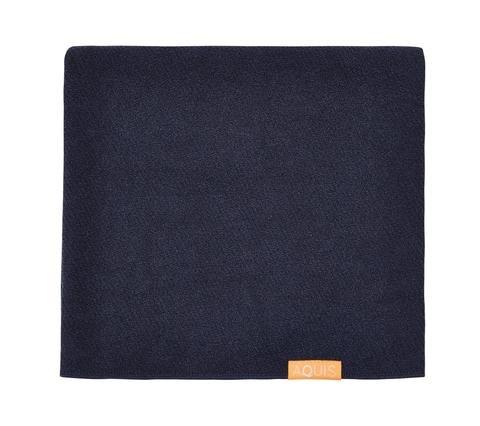 Aquis Lisse Luxe Hair Towel - Stormy Sky - 19 x 42in - 50 x 107cm