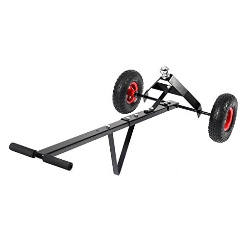 zwan 600lb Heavy Duty Utility Trailer Mover Hitch Boat Jet Ski Camper Hand Dolly New with Ebook