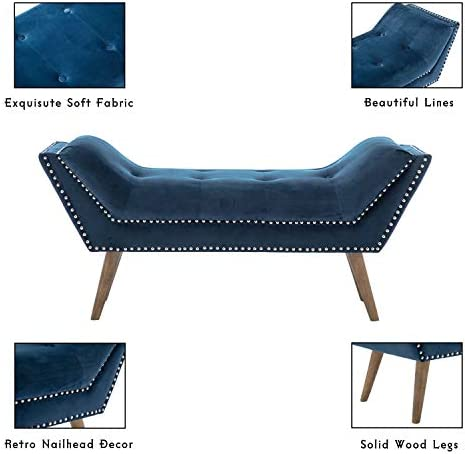Tufted Upholstered Bedroom Bench