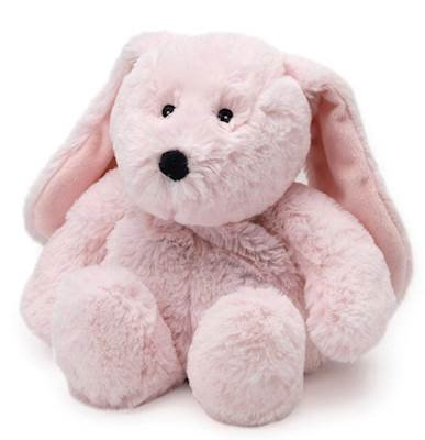Warmies PINK BUNNY Cozy Plush Heatable Lavender Scented Stuffed Animal
