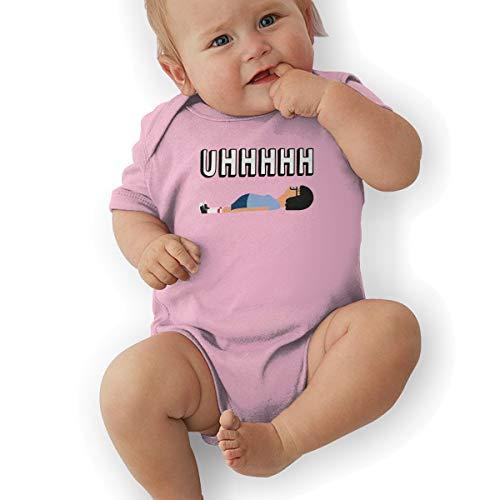 Bob's Burgers UHHH Tina Lying On Floor Unisex Baby Girls' Baby Boys' Short-Sleeve Onesies Bodysuit