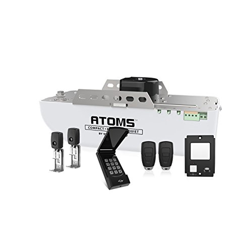ATOMS AT-1622BK By Skylink 1/2HPF Garage Door Opener with Extremely Quiet DC Motor, Belt Drive ()