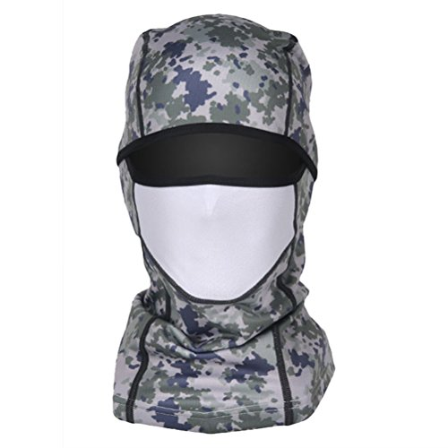Balaclava Polar Mask - starlit Unisex Camouflage Skull Polar Fleece Windproof Winter Balaclava Sports Face Mask