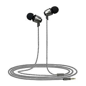 maceton controlador de alta resolución de 9mm Dentro de oído auriculares de metal para Smartphones Titanio