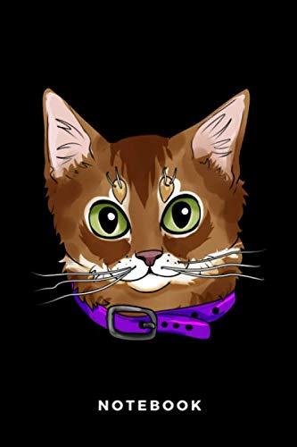 Notebook: Somali Cat
