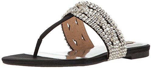 Badgley Mischka Women's Trent Dress Sandal, Black, 8 M US MP3663