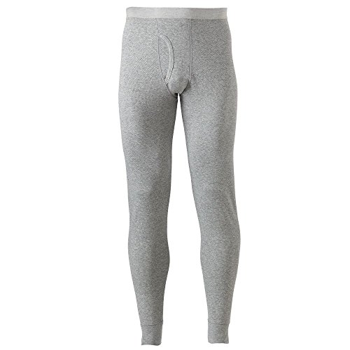 Croft & Barrow Solid Thermal Underwear Pants Gray Large from Croft & Barrow