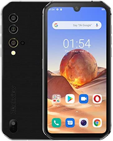 Blackview India s – BV9900E Mobile Phone: 6Gb + 128Gb: 5.84″ FHD+ IPS Display: 48Mp Quad Rear Camera with Underwater Camera Mode: Ultra Rugged WateRP Accessoriesroof IP68 & IP69K Smartphone (Black)