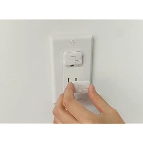 36Pcs Outlet Plugs Baby Safety Child Safe Electric Power Socket Protection Cover