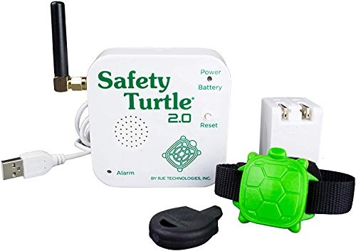 Safety Turtle New 2.0 Child Immersion Pool/Water Alarm Kit -...