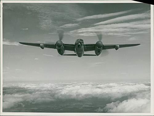 Mosquito Engine Twin (Vintage photo of de Havilland Mosquito Combat aircraft:The de havilland.)