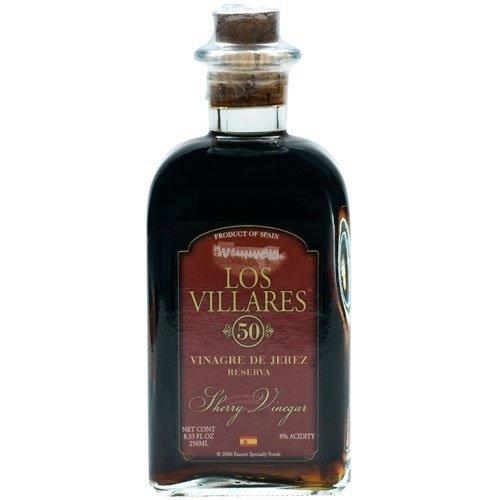 Sherry Wine Vinegar - 50 Year (Vinagre de Jerez Reserva) - 1 bottle - 8.33 fl oz by Los Villares
